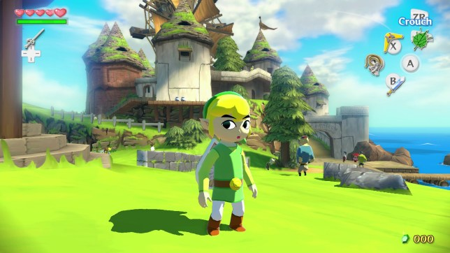 The Legend Of Zelda: The Wind Waker HD – it makes you feel good