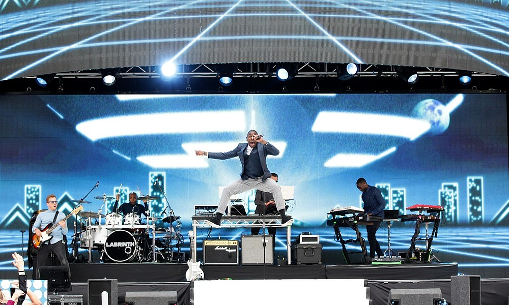 Camp Bestival 2013: Labrinth has everyone under his spell