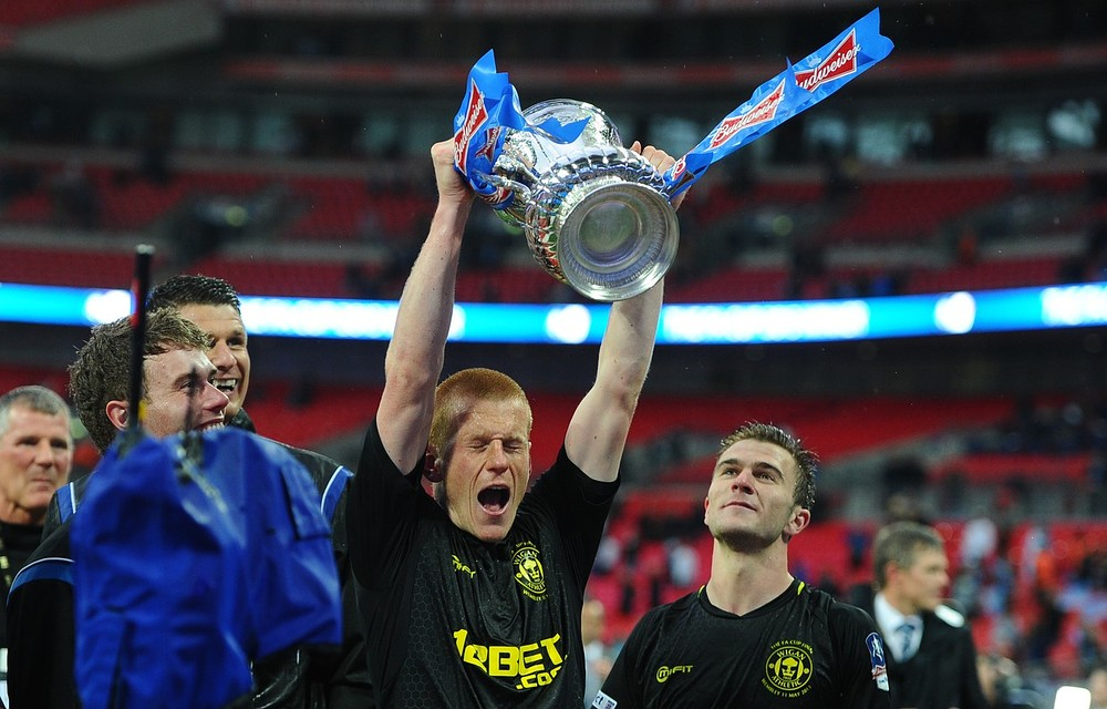 Wigan are the current holders of the FA Cup (Picture: Getty)