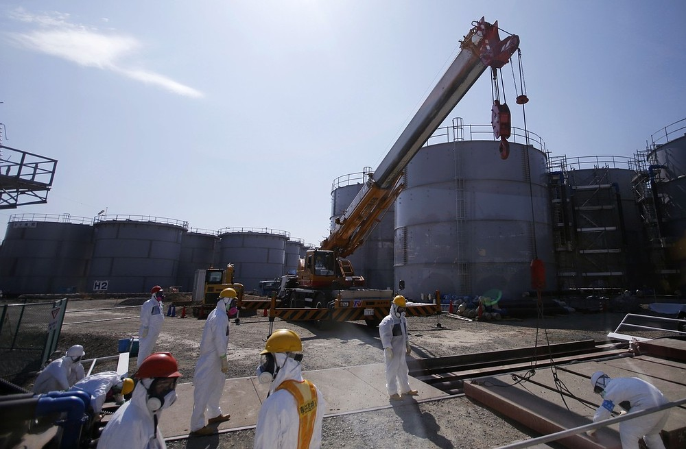 300 tonnes of radioactive water a day leaking from Fukushima nuclear power plant