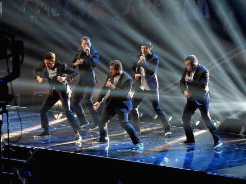NSYNC reunion caps off show-stopping Justin Timberlake VMAs performance – watch