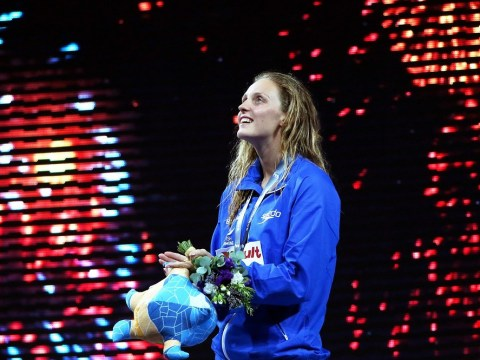 Fran Halsall wins bronze to end British drought at World Swimming Championship