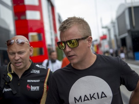 Kimi Raikkonen misses press conference with illness as speculation over his Lotus future continues ahead of Belgian Grand Prix