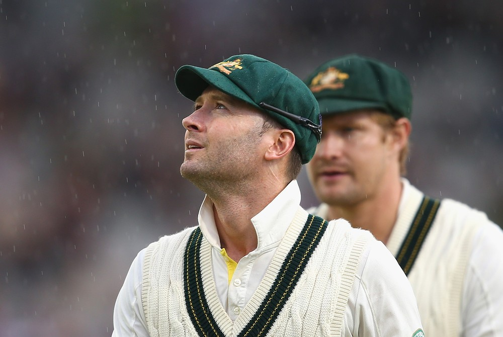 The Ashes 2013: Michael Clarke's return to Manchester consigned to a watery grave