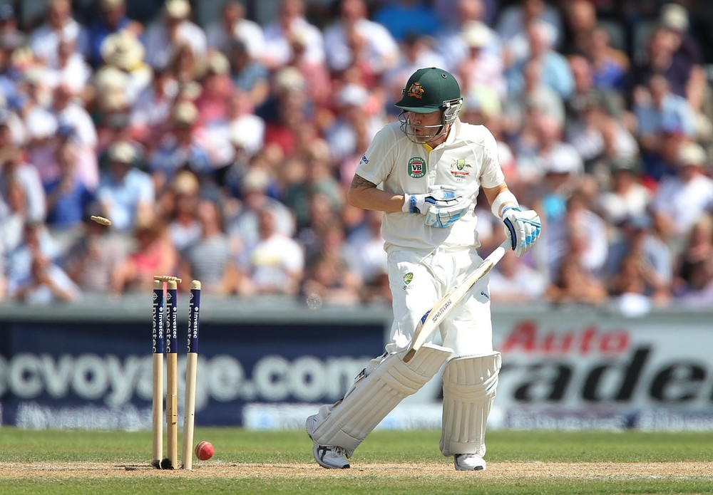 The Ashes 2013: Michael Clarke misses out on double ton as Stuart Broad reaches his
