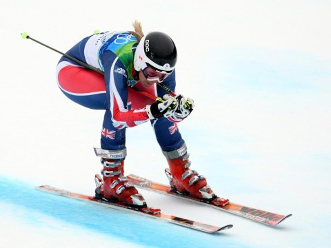 'Just a little whoopsie!' British skier Chemmy Alcott brushes off broken leg and insists she'll be ready for Winter Olympics