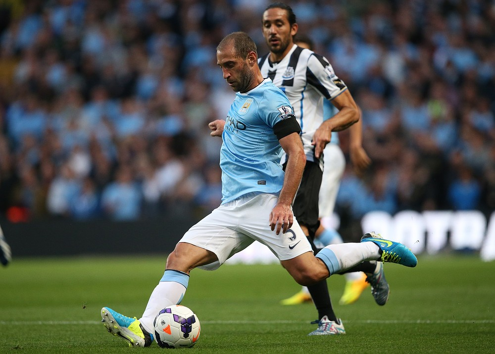 Premier League title race will have six appeal, says Manchester City's Pablo Zabaleta