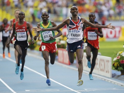 Gallery: Mo Farah stars in 10,000m at 2013 World Athletics Championships in Moscow