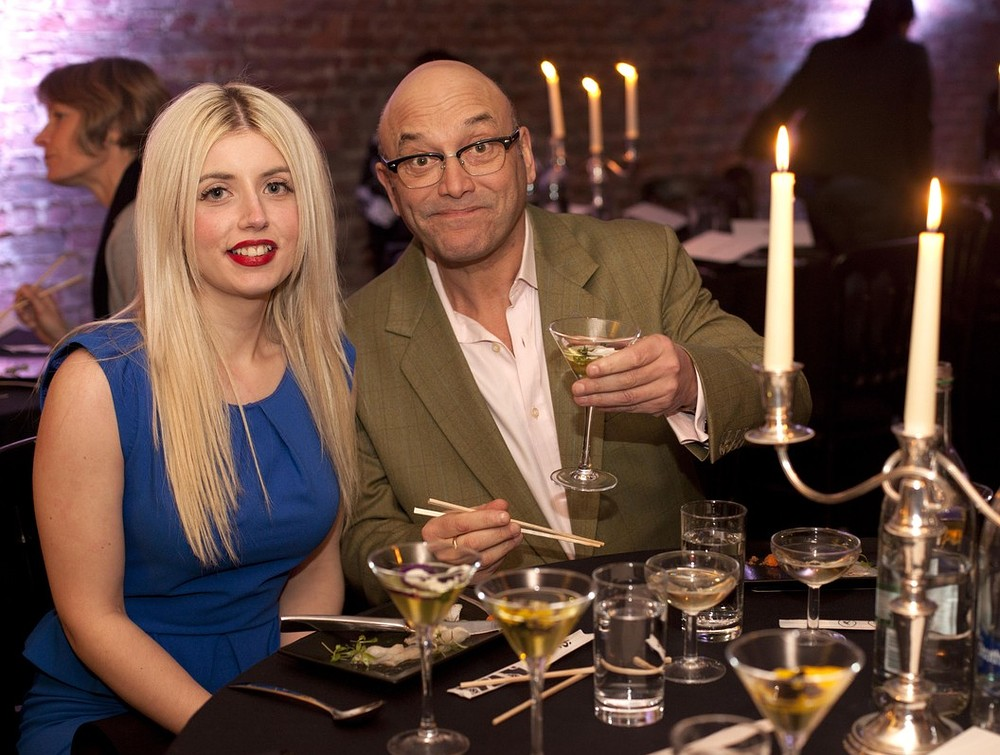 Masterchef star Gregg Wallace reveals he's ready for more kids as first wedding photo revealed