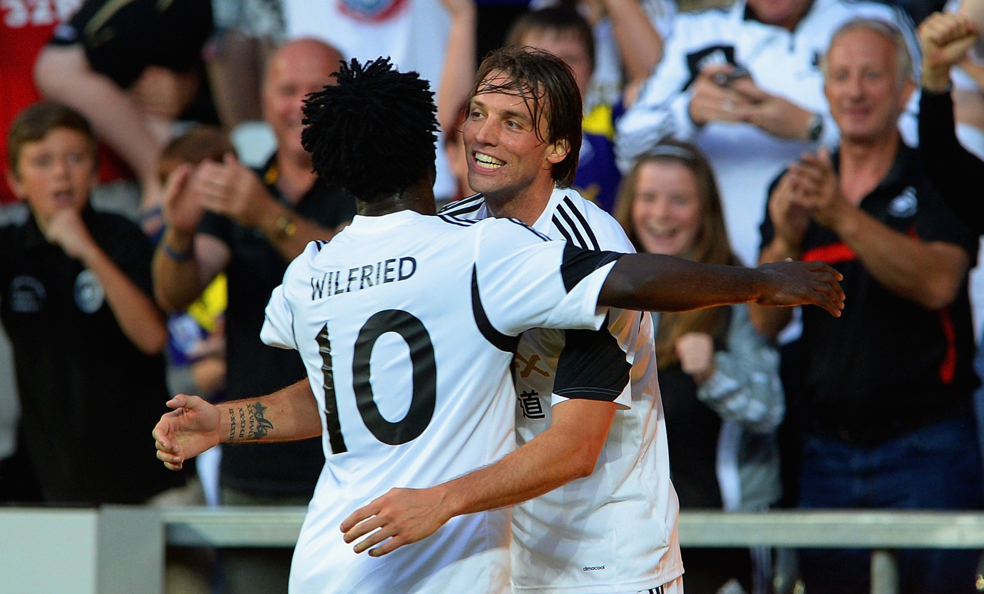 Leon Britton: Wilfried Bony and Michu can fire Swansea to glory this season