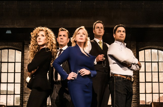 The Dragons are ready for more pitches from entrepreneurs on Dragons' Den (Picture: BBC)