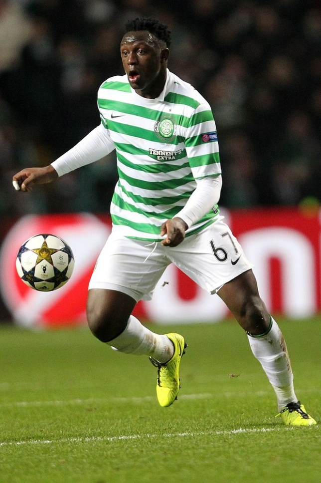 File photo dated 12/02/2013 of Victor Wanyama, Celtic. PRESS ASSOCATION Photo. Issue date: Monday May 13, 2013. The award for top player aged 21 and under goes to Celtic's Victor Wanyama after the Kenyan midfielder played a key role in the Hoops' second successive title win. See PA story SOCCER SPL. PA Wire/Press Association Images