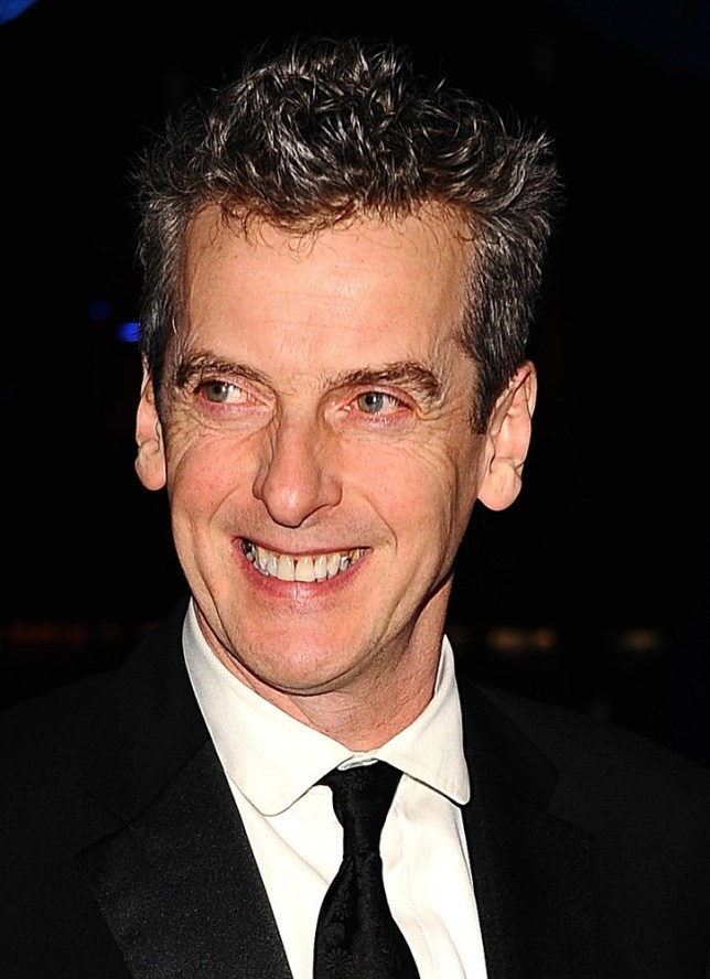 Capaldi was announced as the new Doctor 10 days ago (Picture: PA)