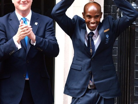 David Cameron 'warmly welcomes' knighthood for Olympic great Mo Farah