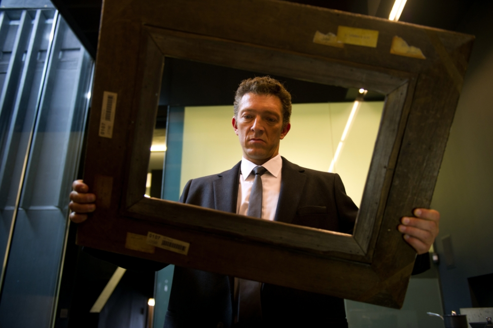 Vincent Cassel finds himself in the frame in Trance (Picture: Fox Searchligh Pictures)