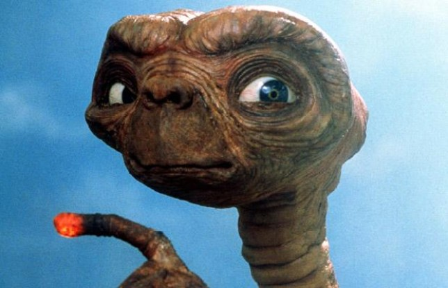 alien extra terrestrial from E.T. (Picture: File)