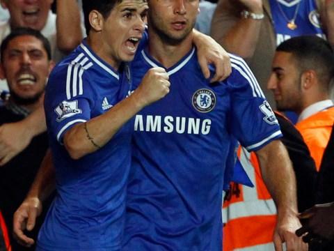 Branislav Ivanovic helps Chelsea keep up good start with win over Aston Villa