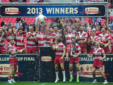 Wigan Warriors see off Hull FC to win Challenge Cup final at Wembley