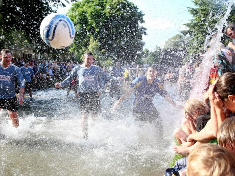 Gallery: Bourton on the Water football match 2013