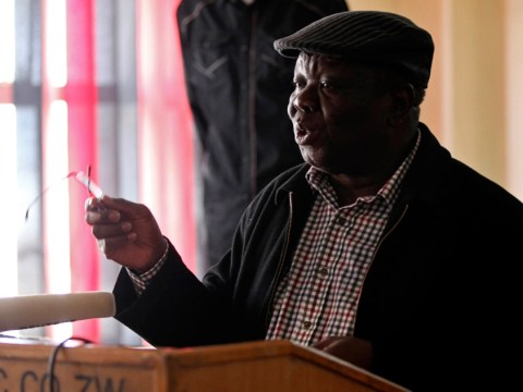 Zimbabwe: Morgan Tsvangirai says Robert Mugabe has overseen 'huge farce' of elections that should be declared 'null and void'