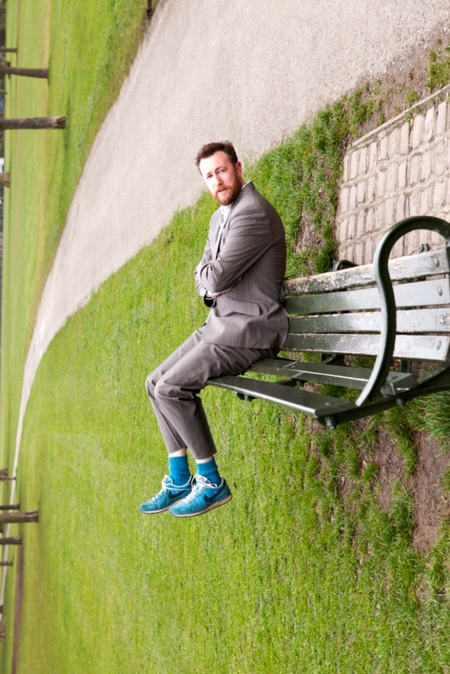 Alex Horne will have a big year with his latest comedy, Lies (Picture: Pete Le May)
