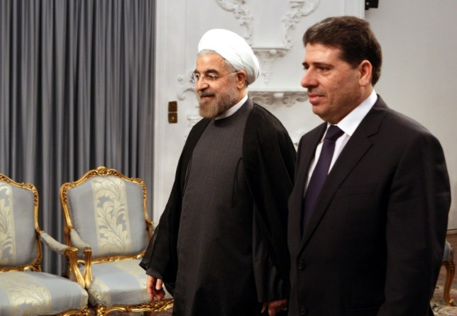 Iran's Hasan Rouhani vows historic bond with Bashar al-Assad and Syria 'will not be shaken'