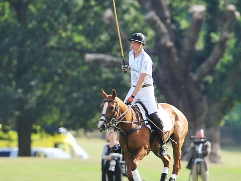 Prince George and Kate Middleton left at home, but Prince William still in 'baby mode' during polo match