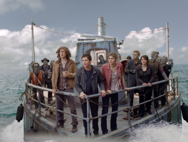 Percy Jackson sails off into a CGI adventure (Picture: Twentieth Century Fox)