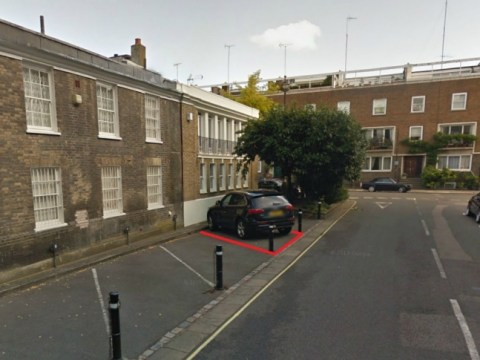 Watch this space: Hyde Park Gardens car parking spot on the market for £300,000