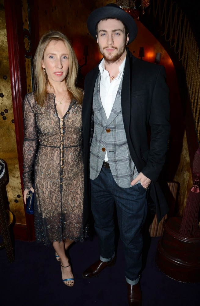 Fifty Shades of Grey director Sam Taylor-Wood eyes husband Aaron Taylor-Johnson as Charlie Hunnam replacement