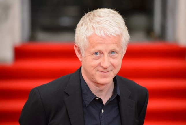 Director Richard Curtis arriving at the premiere of 'About Time' at Somerset House, central London. PRESS ASSOCIATION Photo. Picture date: Thursday August 8, 2013. Photo credit should read: Dominic Lipinski/PA Wire