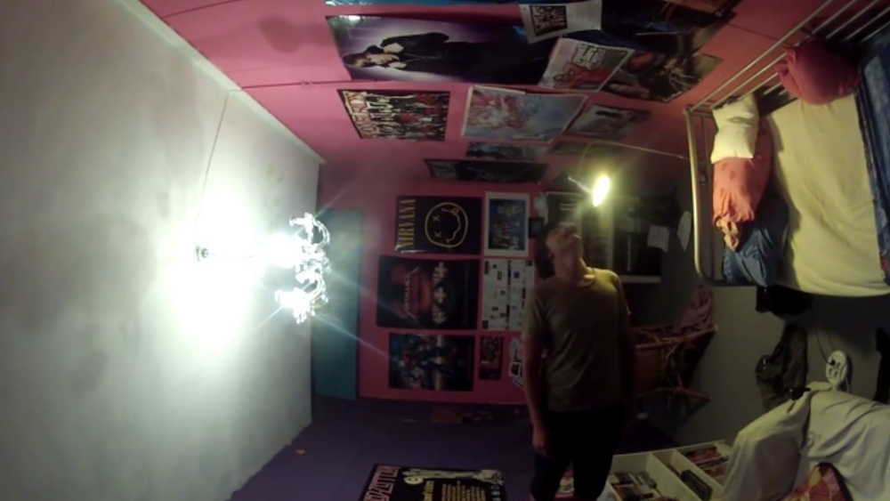 Pink prank war between brothers escalates with extreme bedroom makeover