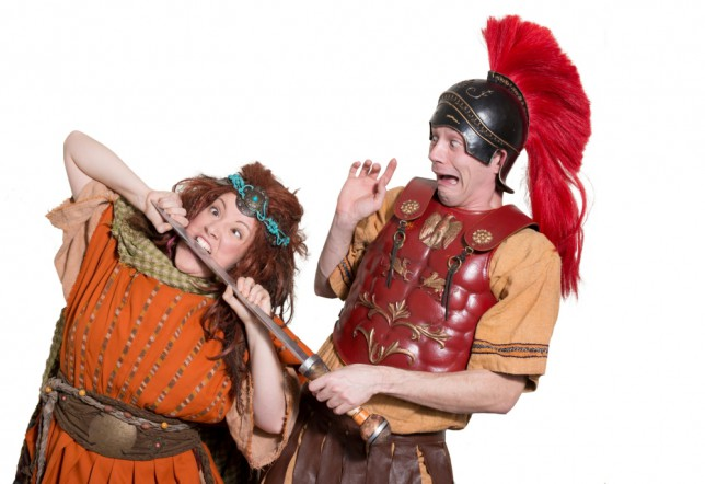 2.Horrible Histories - Barmy Britain - Part Two!  Lauryn Redding & Anthony Spargo (c)Jane Hobson.jpg