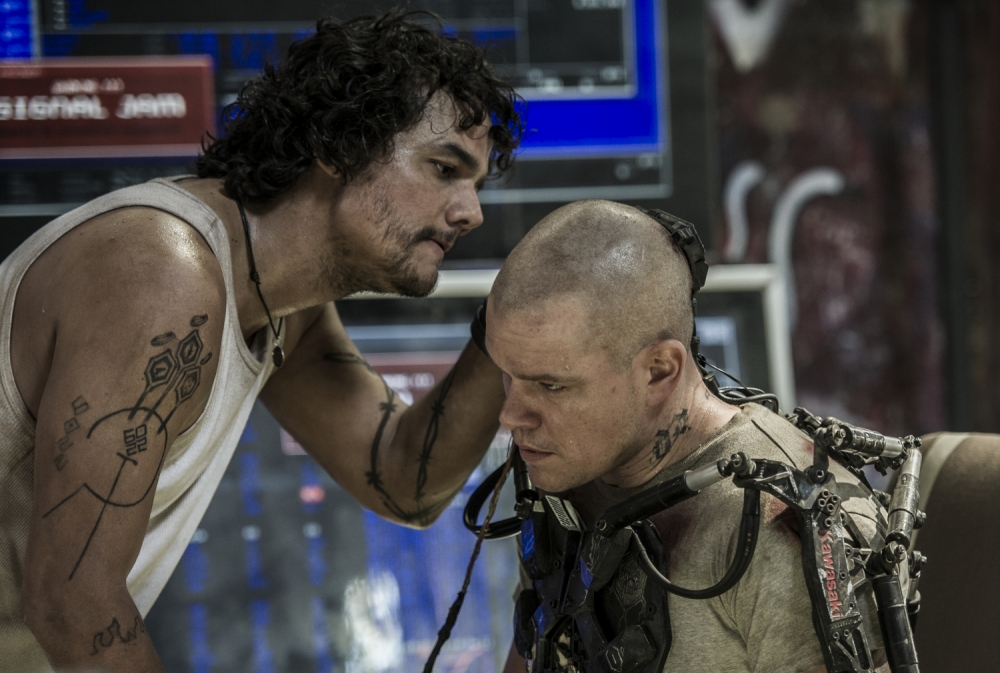 Elysium fights off competition from We're The Millers at UK box office