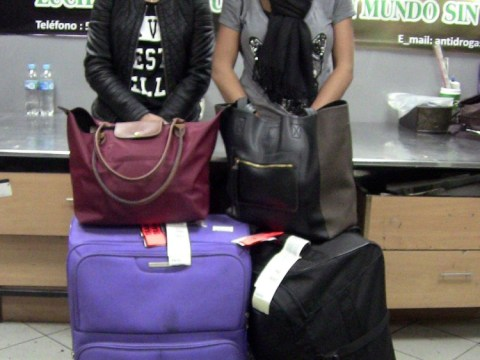 Girls accused of cocaine smuggling could be held for three years before trial as parents fly to Peru