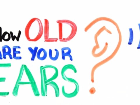Find out how old your ears are