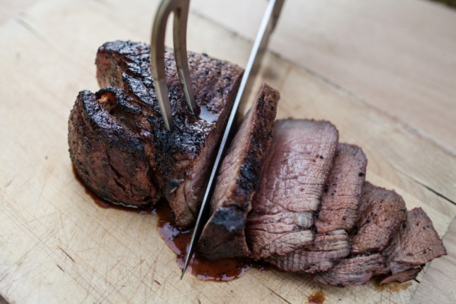 The trick to a good steak is the marinade and cooking time (Picture: Oli Jones)