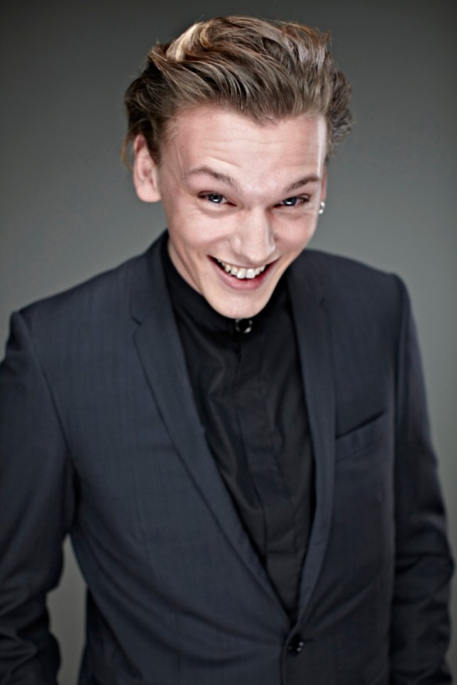 Jamie Campbell Bower: 'I think my face looks like a slapped arse' (Picture: Ian Derry/Camera Press)