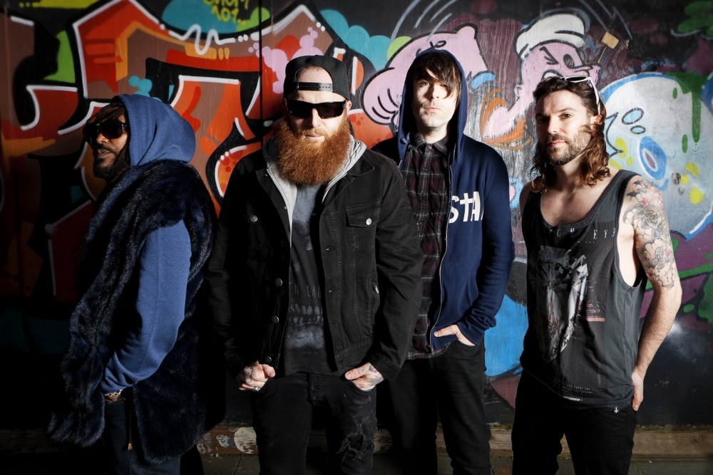Skindred warm up for Reading and Leeds festivals