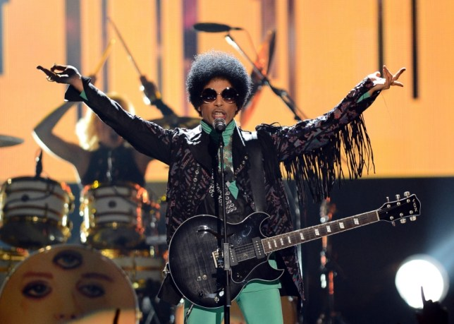 Prince performs onstage during the 2013 Billboard Music Awards at the MGM Grand Garden Arena on May 19, 2013 in Las Vegas, Nevada (Picture: Getty)