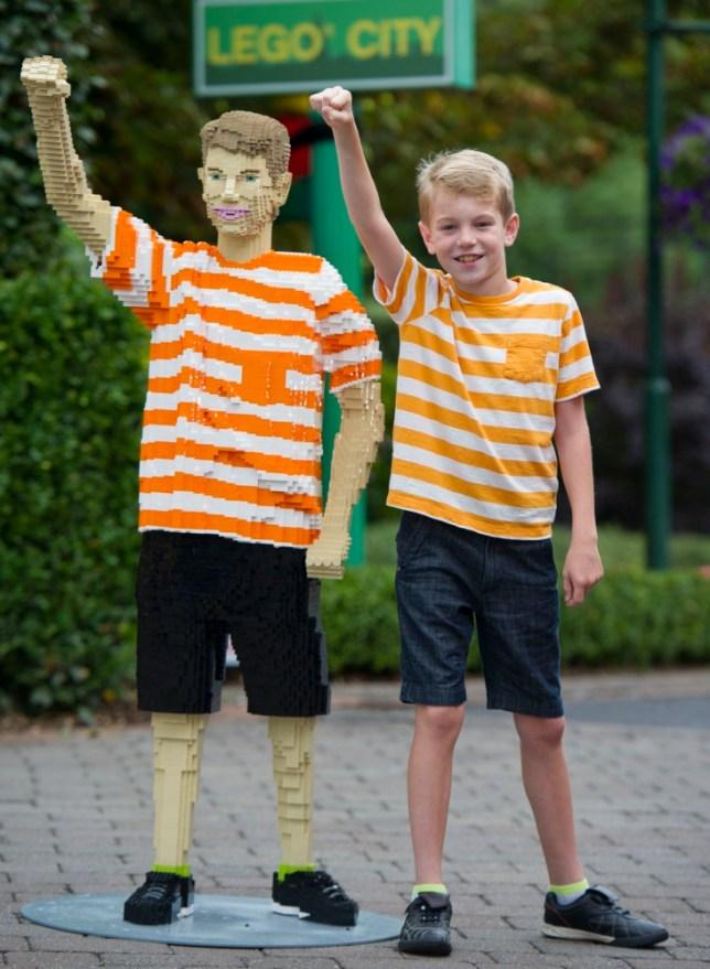 Lego fan Jack Covill-Lowndes gets life sized model of himself