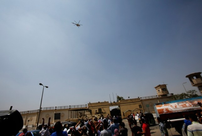 Deposed Egyptian leader Hosni Mubarak freed from prison