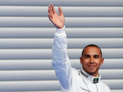 Gallery: Lewis Hamilton grabs pole position in qualifying for Belgian Grand Prix at Spa – 24th August 2013