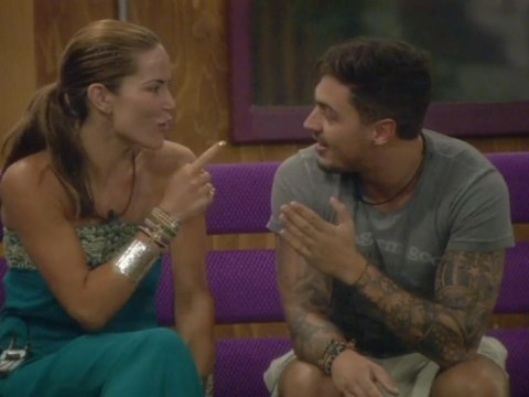 Celebrity Big Brother 2013: TOWIE star Mario Falcone tries his luck with 'awesome' Sophie Anderton