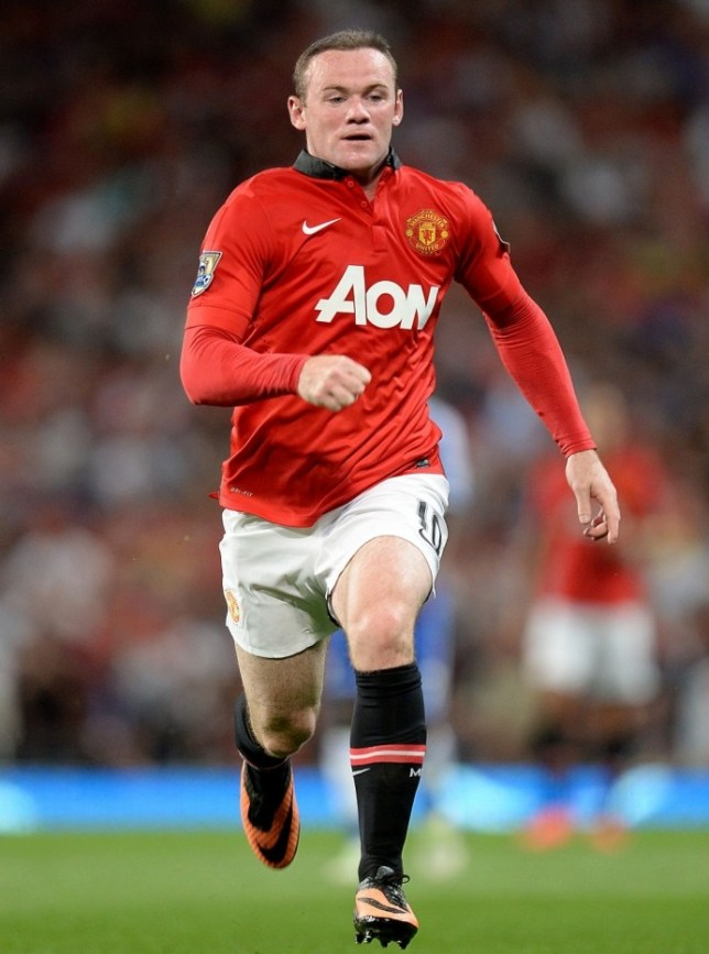 File photo dated 26/08/2013 of Manchester United's Wayne Rooney. PRESS ASSOCIATION Photo. Issue date: Tuesday August 27, 2013. Chelsea manager Jose Mourinho wants to bring the Wayne Rooney saga to an end and has called on the Manchester United striker to make his intentions public. See PA story SPORT Digest. Photo credit should read: Martin Rickett/PA Wire