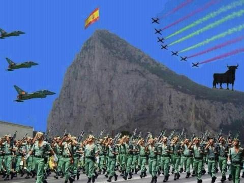 Spanish mayor under fire over mock Gibraltar invasion pictures on Facebook