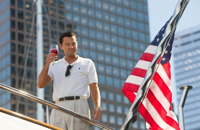 "This film image released by Paramount Pictures shows Leonardo DiCaprio as Jordan Belfort in a scene from ""The Wolf of Wall Street."" (AP Photo/Paramount Pictures and Red Granite Pictures, Mary Cybulski)"