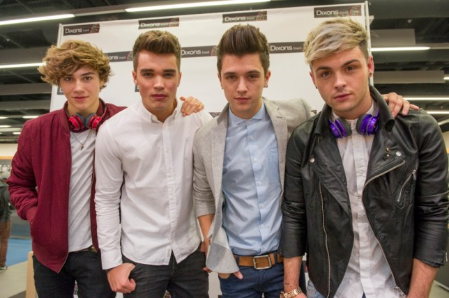 To mark the opening of the new Dixons Travel concept store at Heathrow Terminal 5, Union J performed an exclusive set for fans, powered by Monster. Credit: Professional Images