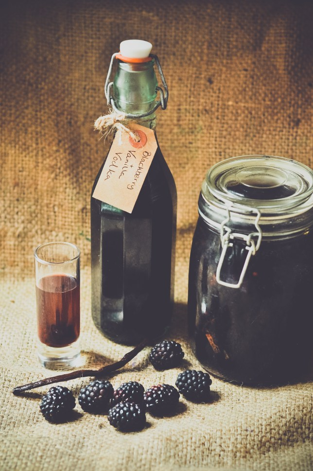 Blackberry vodka recipe: How to make homemade blackberry and vanilla