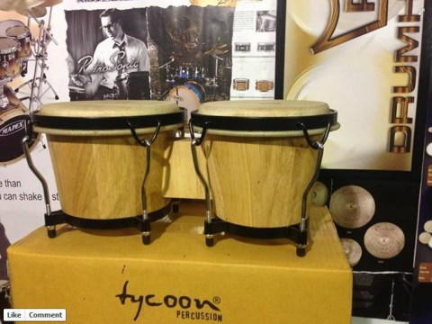 Ukip MEP Godfrey Bloom given free bongos after 'bongo bongo land' comments